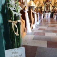 dekoracja koscioła gdansk matarnia trojmiasto banino