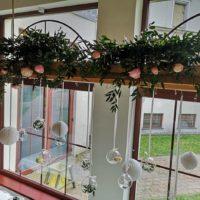 dekoracja sali zielona brama
